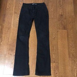 Levi's Denim Bootcut Legging Black Size 26